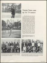 1974 Muscatine High School Yearbook Page 96 & 97