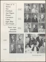 1974 Muscatine High School Yearbook Page 122 & 123