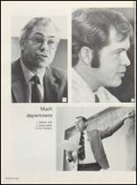 1974 Muscatine High School Yearbook Page 166 & 167