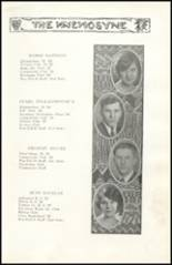 1928 Richwood High School Yearbook Page 26 & 27