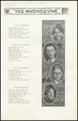 1928 Richwood High School Yearbook Page 28 & 29