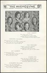 1928 Richwood High School Yearbook Page 46 & 47