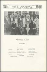1928 Richwood High School Yearbook Page 100 & 101