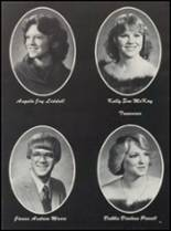 1981 Thackerville High School Yearbook Page 20 & 21
