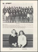 1981 Thackerville High School Yearbook Page 58 & 59