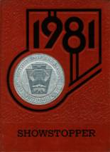 1981 Yearbook Pottsville High School