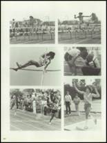 1981 West Covina High School Yearbook Page 206 & 207