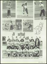 1981 West Covina High School Yearbook Page 222 & 223