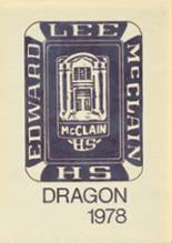 1978 Yearbook McClain High School