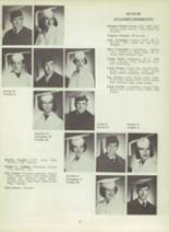 1953 Monterey High School Yearbook Page 18 & 19