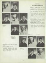 1953 Monterey High School Yearbook Page 20 & 21