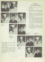 1953 Monterey High School Yearbook Page 22 & 23