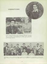 1953 Monterey High School Yearbook Page 36 & 37