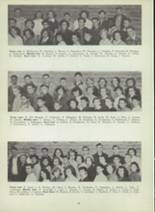 1953 Monterey High School Yearbook Page 42 & 43
