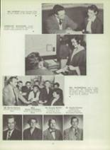 1953 Monterey High School Yearbook Page 48 & 49