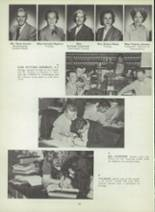 1953 Monterey High School Yearbook Page 56 & 57