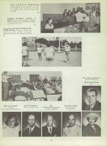 1953 Monterey High School Yearbook Page 58 & 59