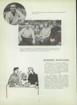 1953 Monterey High School Yearbook Page 64 & 65