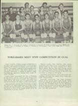 1953 Monterey High School Yearbook Page 100 & 101