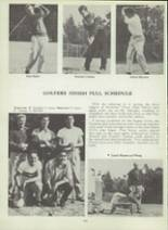 1953 Monterey High School Yearbook Page 106 & 107
