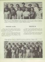 1953 Monterey High School Yearbook Page 112 & 113