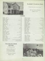 1953 Monterey High School Yearbook Page 134 & 135