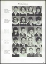 1969 Piedmont High School Yearbook Page 46 & 47
