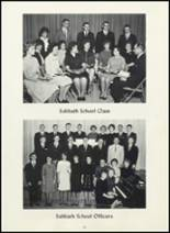 1964 Wisconsin Academy Yearbook Page 56 & 57