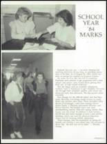 1984 Grayson County High School Yearbook Page 14 & 15