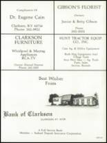 1984 Grayson County High School Yearbook Page 160 & 161