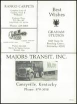 1984 Grayson County High School Yearbook Page 164 & 165