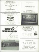 1984 Grayson County High School Yearbook Page 172 & 173