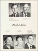 1970 Ralston High School Yearbook Page 12 & 13