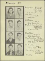 1944 Denver City High School Yearbook Page 16 & 17