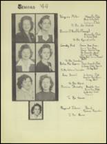 1944 Denver City High School Yearbook Page 18 & 19
