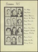 1944 Denver City High School Yearbook Page 20 & 21