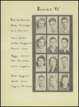 1944 Denver City High School Yearbook Page 22 & 23