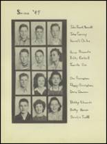 1944 Denver City High School Yearbook Page 28 & 29