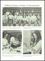 1973 Southwestern High School Yearbook Page 70 & 71