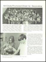 1973 Southwestern High School Yearbook Page 80 & 81