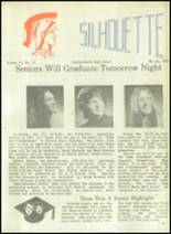 1973 Southwestern High School Yearbook Page 166 & 167