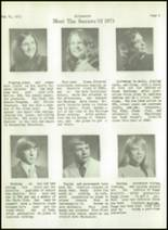 1973 Southwestern High School Yearbook Page 170 & 171