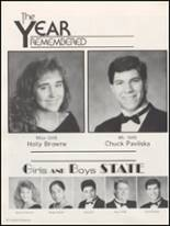 1991 Gonzales High School Yearbook Page 34 & 35