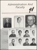 1991 Gonzales High School Yearbook Page 68 & 69