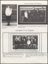 1991 Gonzales High School Yearbook Page 122 & 123