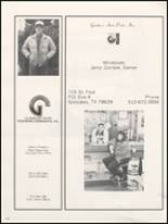 1991 Gonzales High School Yearbook Page 152 & 153