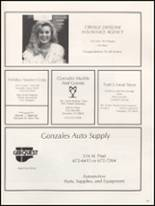 1991 Gonzales High School Yearbook Page 154 & 155
