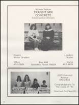 1991 Gonzales High School Yearbook Page 164 & 165