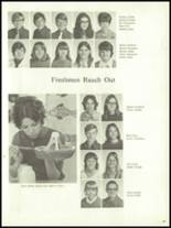 1972 Harrison High School Yearbook Page 28 & 29