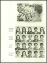 1972 Harrison High School Yearbook Page 38 & 39